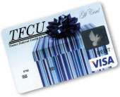 Photo of TFCU Visa Gift Card