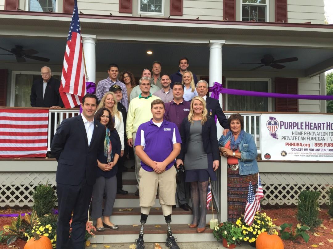 Purple Heart Homes Group Photo
