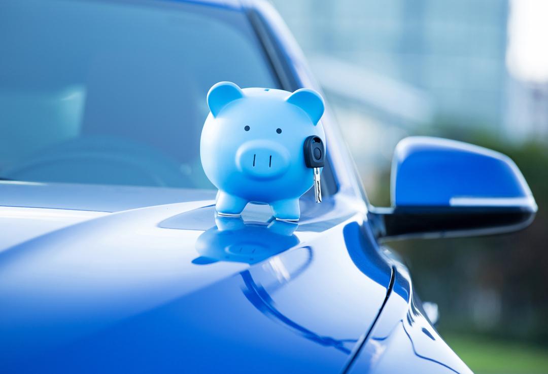 Car and Piggy Bank